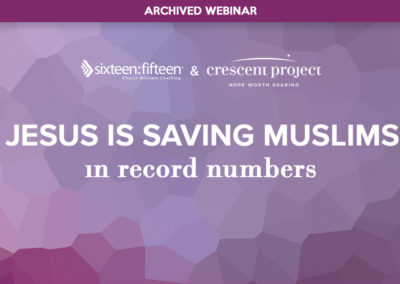 Jesus is Saving Muslims in Record Numbers