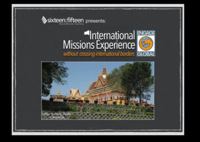 International Missions Experience Without Crossing International Borders