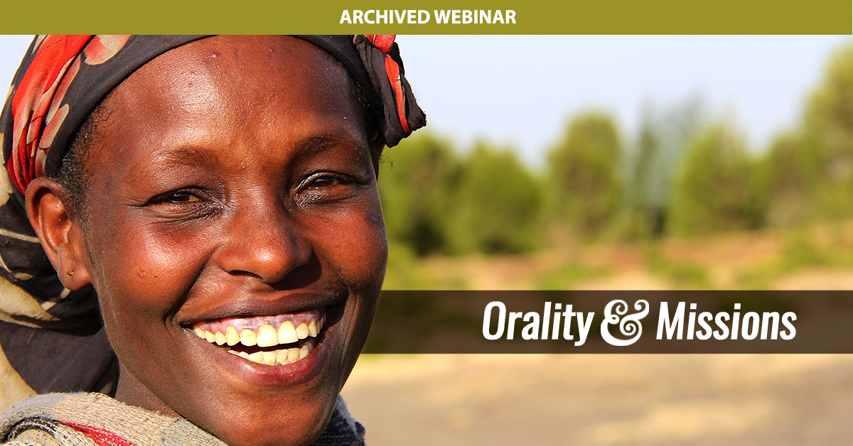 Orality & Missions