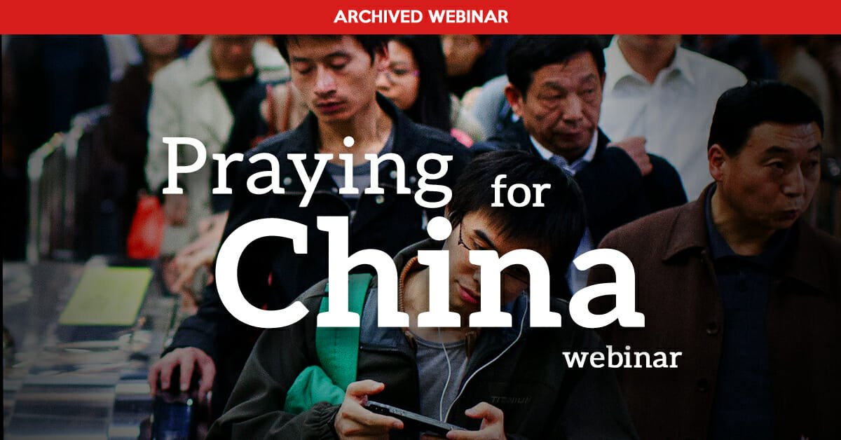 Praying for China
