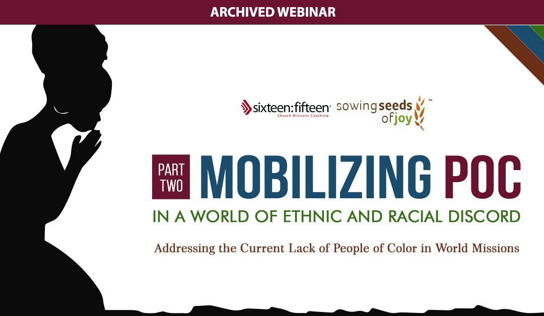 Mobilizing POC Part 2