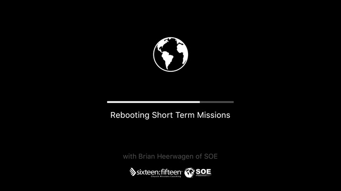 June 10, 2021 | Webinar | Rebooting Short-Term Missions